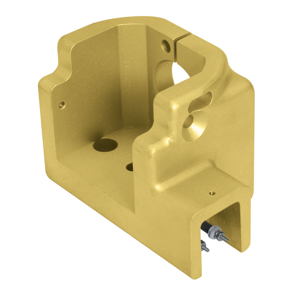 Brass casting used in industrial processing machinery