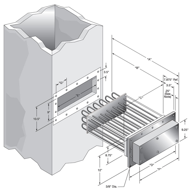 Duct Heater Cut out