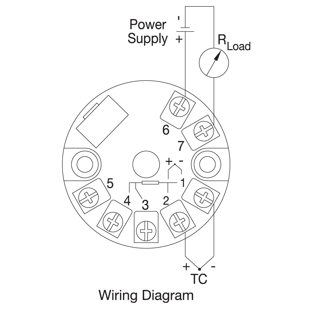Tc With Transmitter Connection Head Wiring Diagram Webn523 Dim Webj541