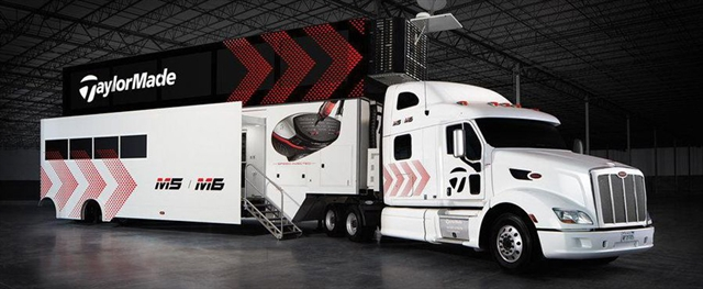The TaylorMade Truck
