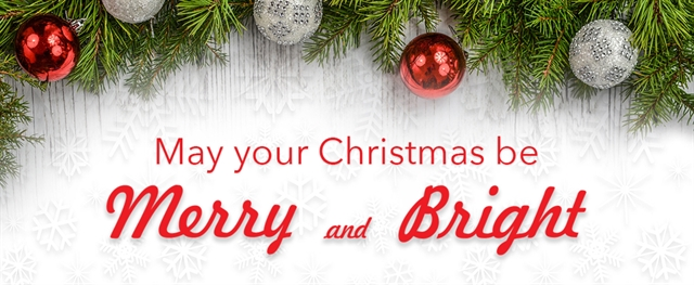 May Your Christmas be Merry and Bright - From Tempco