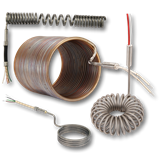 Coil and cable heater group