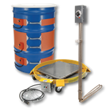 Drum heater group